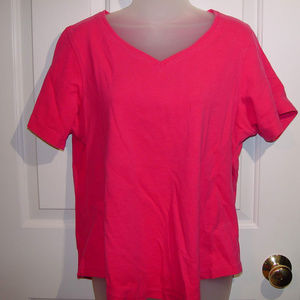 Avenue 14/16 Bright Pink Top